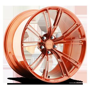 Ritz Brushed | Transparent Copper 1 5 lug