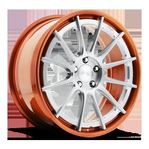 Agile Brushed Single Dark Tint | Hi Polish Copper 1 5 lug