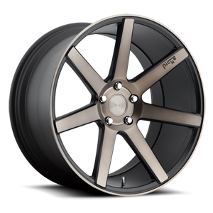 Verona - M150 Black & Machined with Dark Tint 5 lug