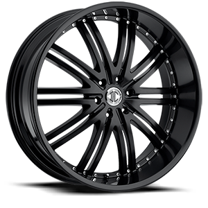 2 Crave Alloys No11 6 Satin Black