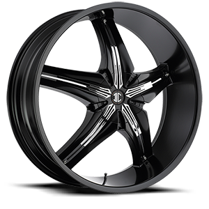 2 Crave Alloys No15 5 Satin Black / Chrome Attachment B