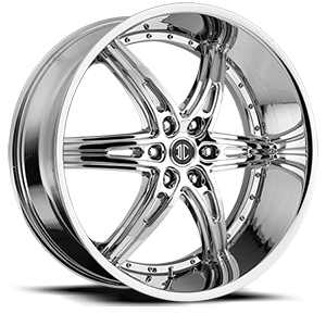 No16 Chrome 6 lug
