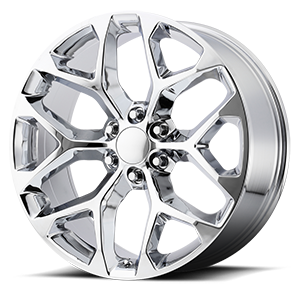 176 Chrome 6 lug