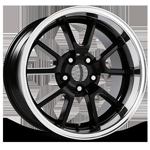 118 Gloss Black Machined 5 lug