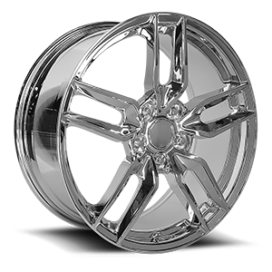 160 Chrome 5 lug