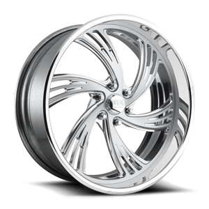 OUTRAGE 6 - U490 Polished w/ Brushed Face 6 lug