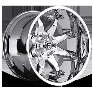 Fuel Deep Lip Wheels Octane - D508 5 Chrome Plated