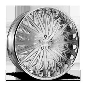 Pharoah - X109 Brushed w/Polished Lip 5 lug