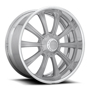 Platinum - F345 Custom w/ Polished Lip 5 lug