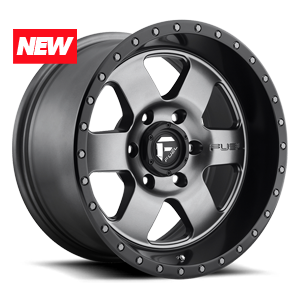 Podium - D619 Anthracite with Black Lip 6 lug