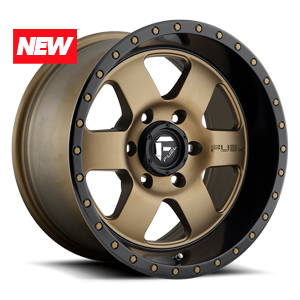 Podium - D617 Bronze w/ Black Lip 6 lug