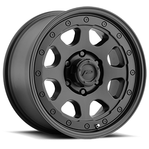 166 Nighthawk Satin Black 6 lug
