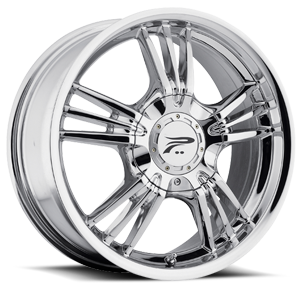 122 Wolverine Chrome 5 lug