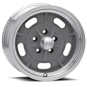 R33 Igniter Gray Paint Center / Machined Outer 5 lug