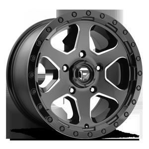 Ripper - D590 5 Gloss Black & Milled