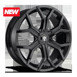 Royalty - S208 Gloss Black 6 lug