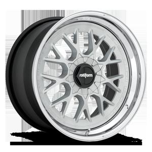 RSE-M 5 Matte Silver w/ Chrome Lip