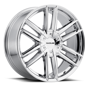 158 Chrome 6 lug
