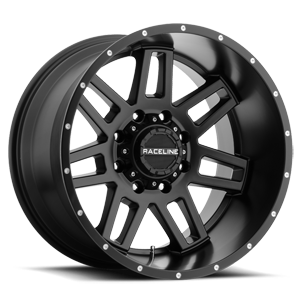 931B Injector Satin Black - 20x12 8 lug
