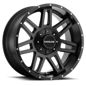 931B Injector Satin Black 6 lug