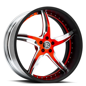 Rucci Forged Cotello 5 Black w/ Red Accents