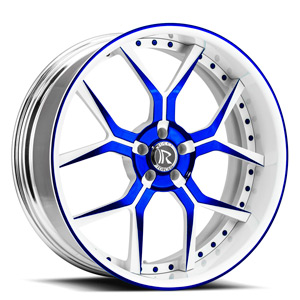 Rucci Forged Da Corsa 5 Blue and White