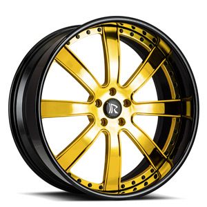 Rucci Forged Ditto 5 Gold Center, Black Lip