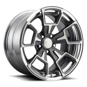 Down Draft Concave - U526 Anthracite Brushed w/ DDT 5 lug
