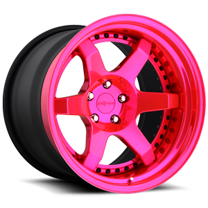 SIX Pink 5 lug