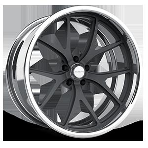 SL65 eXL d.concave Gray w/Polished Lip 5 lug