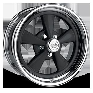 Super Spoke (Series 463) Black/Chrome Rim 5 lug