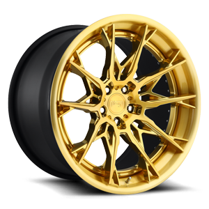 Staccato Brushed Candy Gold 5 lug