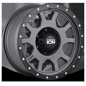 Ion Alloy Wheels 135 6 Matte Gunmetal