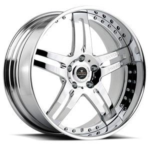 SV1 Chrome 5 lug