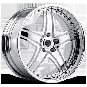 SV8 Chrome 5 lug