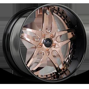 SV2-S Rose Gold and Black 5 lug