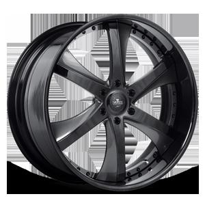 SV30-S Black and Gray 6 lug