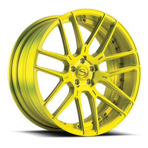 Savini Forged SV63-D 5 Shocker Yellow