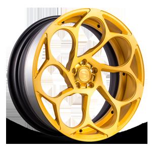 SV69-D Brushed Gold 5 lug