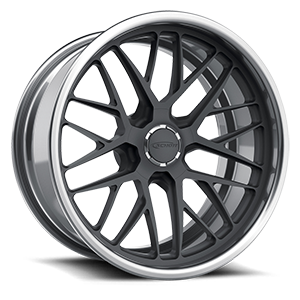 Schott Grid d.concave 5 Gray and Brushed