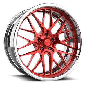Schott Grid eXL s.concave 5 Red and Polished