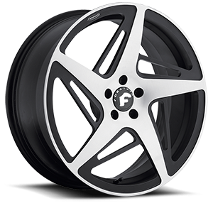 SPACCO-M Satin/Black 5 lug
