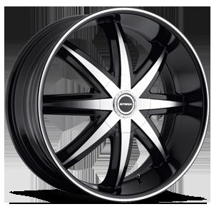 Strada Wheels Magia 5 Black Machined