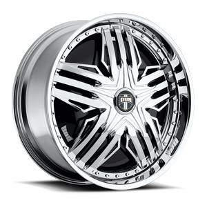 Stuntin - S783 Chrome 5 lug