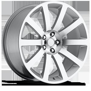 Style 65 Silver 5 lug
