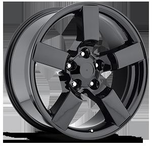 Style 50 Gloss Black 5 lug