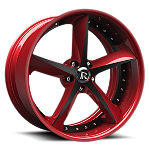 Swoops Red 5 lug