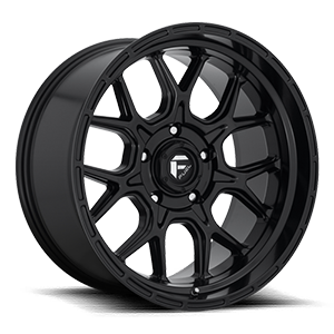 Tech - D670 Matte Black 5 lug