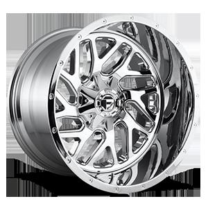 Fuel 2-Piece Wheels Triton - D210 6 Chrome