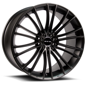 Turbine Black 5 lug